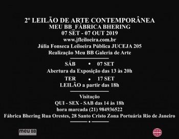 2º Leilao de arte contemporanea do Rio-de-Janeiro JF Leiloeira