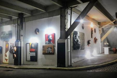Meu BB Galeria de Arte Fachada Circuito Interno Fabrica Bhering- 2018
