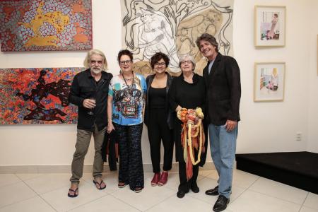 Artistas brasileiros Saphira e Ventura Foto Rafael Cusato-6075