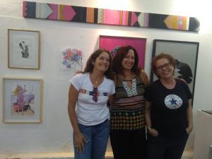 Coletivo Meu BB + Arte 4 : Ana Souza; Soninha Carvalho; Laura Vivacqua